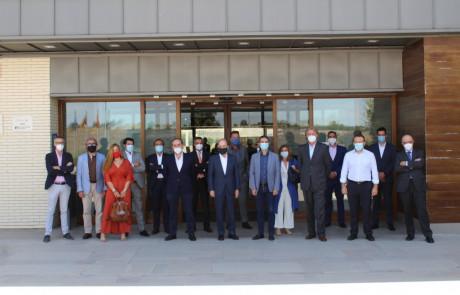 JOaquin Molpeceres Joaquín Molpeceres con reunido con el Comité Ejecutivo de AEDHE