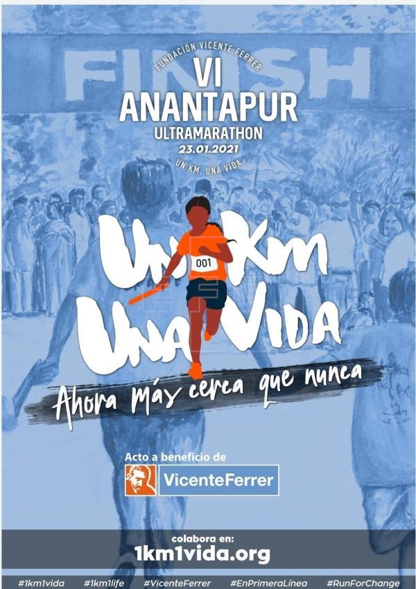 La Anantapur Ultramaratón se vuelve internacional para sortear a la COVID19
