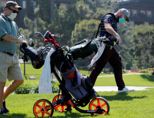 Protocolo apertura campos de golf Madrid COVID 19