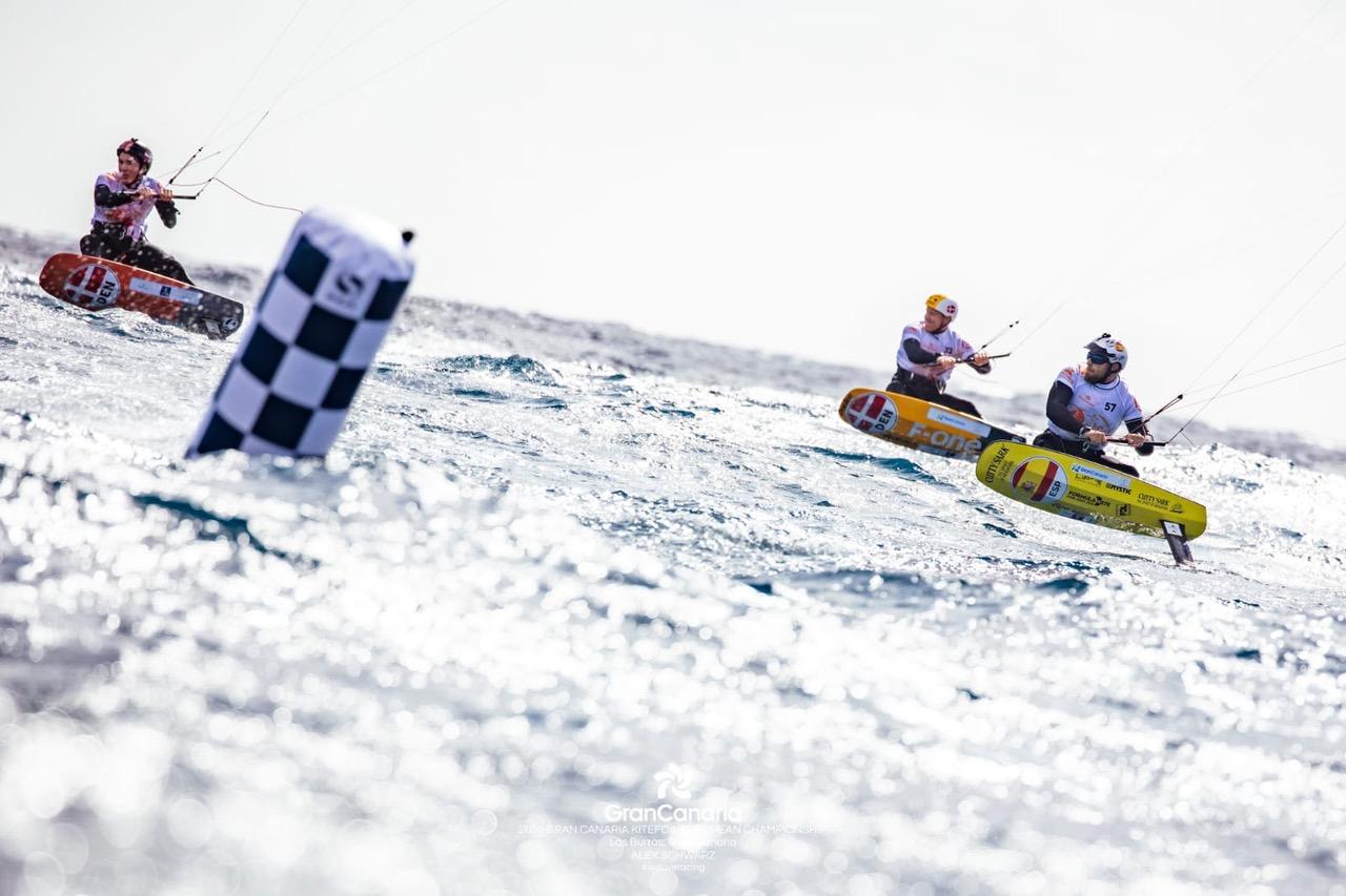 Campeonato de Europa de Kitefoil en Gran Canarias